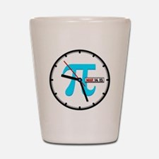 Ultimate Pi Day 2015 Clock Shot Glass