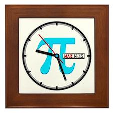 Ultimate Pi Day 2015 Clock Framed Tile