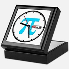 Ultimate Pi Day 2015 Clock Keepsake Box