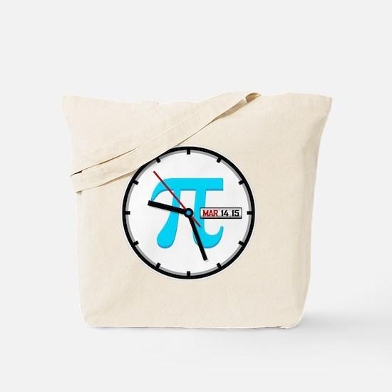 Ultimate Pi Day 2015 Clock Tote Bag