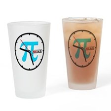 Ultimate Pi Day 2015 Clock Drinking Glass