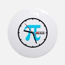 Ultimate Pi Day 2015 Clock Round Ornament