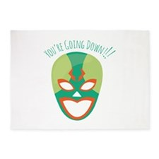 Youre Going Down 5'x7'Area Rug