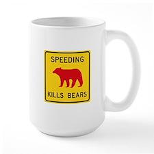 Speeding Kills Bear, California (US) Mug