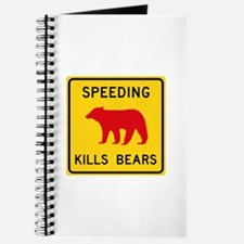 Speeding Kills Bear, California (US) Journal