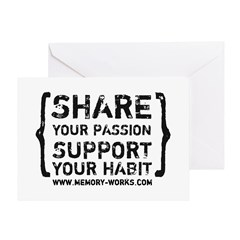 Share Your Passion Greeting Card