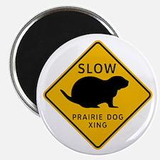 "Warning Prairie Dog, Arizo 2.25"" Magnet (100 pack)"