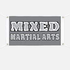 Mixed Martial Arts Banner