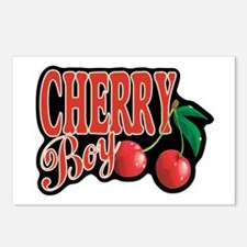 Cherry Boy Postcards (Package of 8)