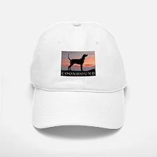 Sunset Coonhound Baseball Baseball Cap