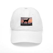 Sunset Coonhound Baseball Cap