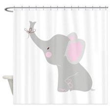 Little Elephant Shower Curtain