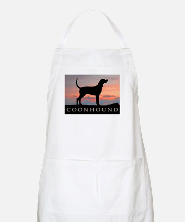 Sunset Coonhound BBQ Apron