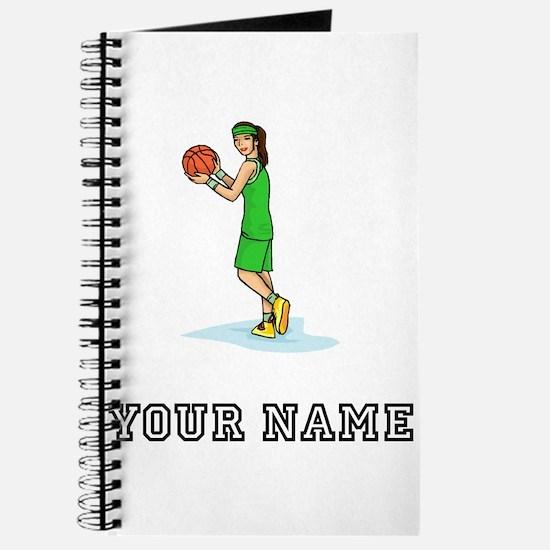 Female Basketball Player Journal