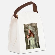 Medieval Lady Canvas Lunch Bag