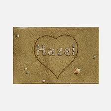 Hazel Beach Love Rectangle Magnet