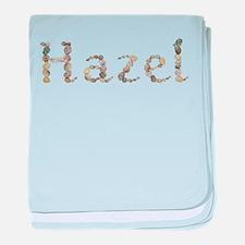 Hazel Seashells baby blanket