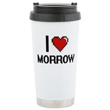 I Love Morrow Travel Mug
