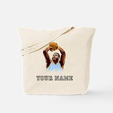Basketball Player Tote Bag