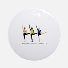 Night At The Barre Ornament (Round)