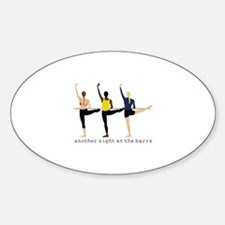 Night At The Barre Decal