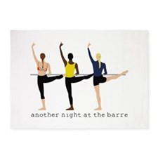 Night At The Barre 5'x7'Area Rug