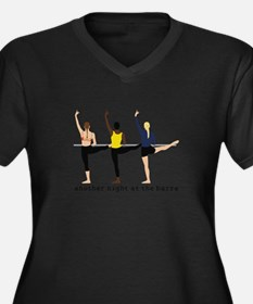 Night At The Barre Plus Size T-Shirt