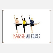Barre All Excuses Banner
