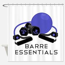 Barre Essentials Shower Curtain
