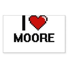 I Love Moore Decal