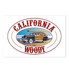 California Woody Postcards (Package of 8)