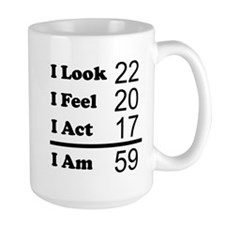 I Am 59 Mugs