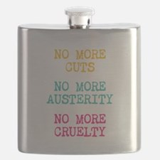 No More Cruelty Flask