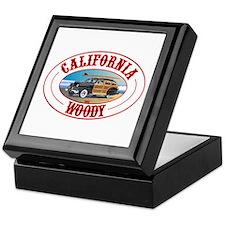 California Woody Keepsake Box