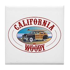 California Woody Tile Coaster