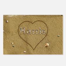 Harris Beach Love Postcards (Package of 8)