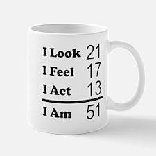I Am 51 Mugs