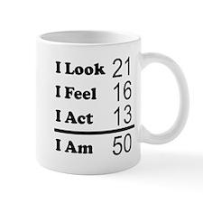 I Am 50 Mugs