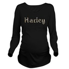 Harley Seashells Long Sleeve Maternity T-Shirt