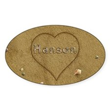 Hanson Beach Love Decal