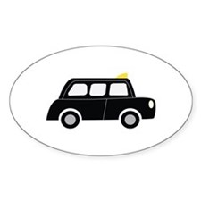 Black Taxi Decal
