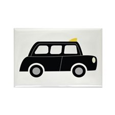 Black Taxi Magnets