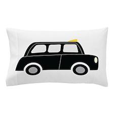 Black Taxi Pillow Case