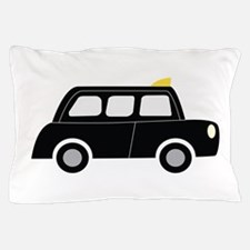 Black Taxi Pillow Case