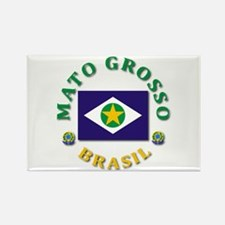 Mato Grosso Rectangle Magnet