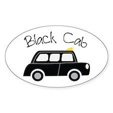 Black Cab Decal