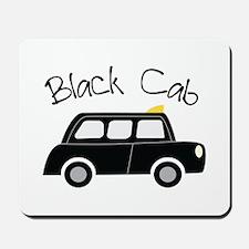 Black Cab Mousepad
