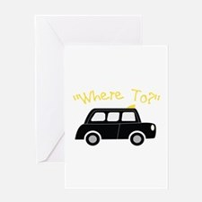 Where To? Greeting Cards