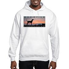 Redbone Coonhound Sunset Hoodie