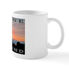 Redbone Coonhound Sunset Mug
